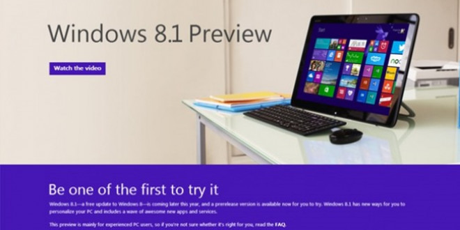 Sistema operativo Windows 8.1 ya está disponible