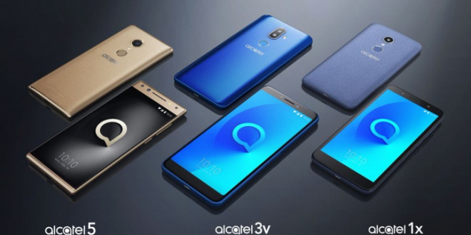 Alcatel presenta en Rep. Dom su line up de moviles para este 2018.