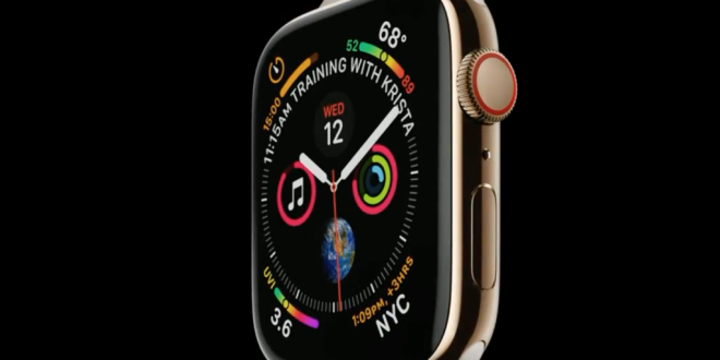 Apple presenta el nuevo Apple Watch Series 4