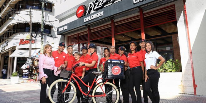 Pizza Hut se renueva en la Zona Colonial