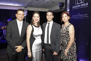 APAP Amaury Abreu, Rosangel Ravelo, Imad Al-Asmar y Rashel Abreu