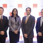 1-Olivier Reale, Mirna Eusebio, Abdelhakim Boubazine y Julian Vittini