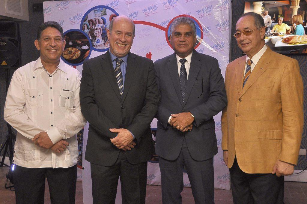 FOTO Principal 1,   Rafael Collado, Teddy De Lara, Fausto Fernández y Luis Felipe Aquino (2)