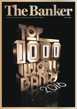 The Banker Top 1000 banks 2016