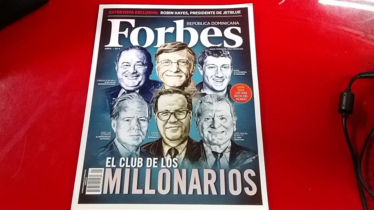 Revista Forbes llega a República Dominicana