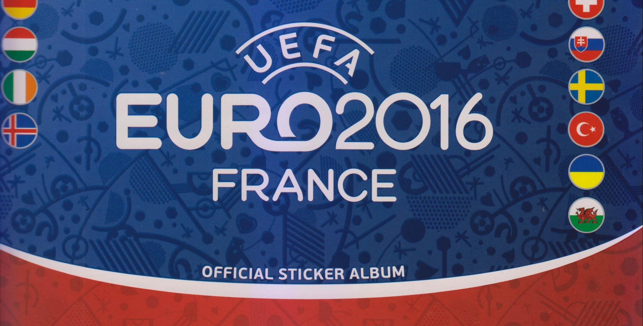 Álbum Oficial de la Eurocopa 2016 en tiendas CCN.