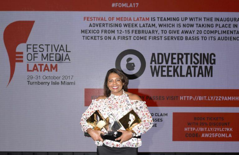 OMD Dominicana y Pagés BBDO ganan 2 Oros y 1 Plata en el Festival of Media Latam Awards 2017